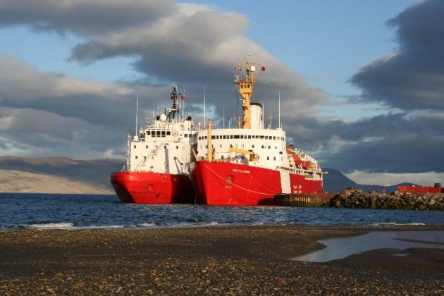 bcbac4d121a A polar icebreaker in the Canadian Coast Guard fleet. Image: Government of  Canada